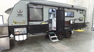 Download 2018 JB Scorpion Sting 22'6″ Double Bunk Caravan Walkthough Video