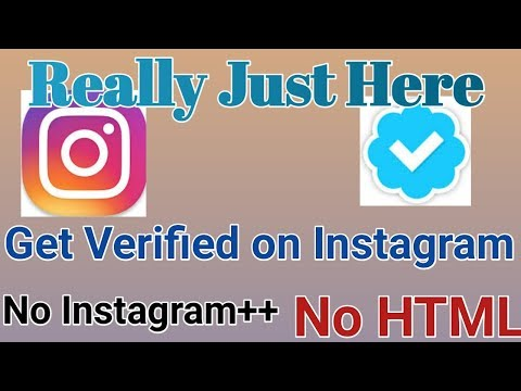 Get Verify On Instagram (No Instagram++),(No HTLM) Real Method! No Fake