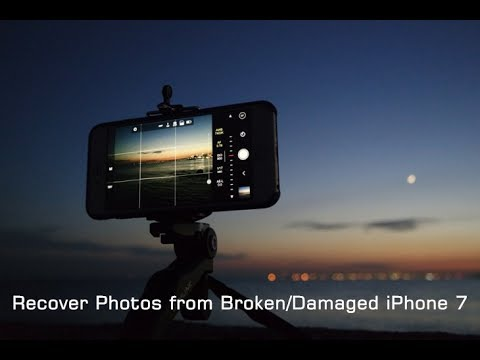 Retrieve Photos from Broken/Damaged iPhone 7 on iOS 10