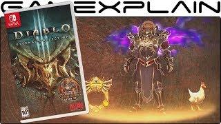 Diablo 3: Eternal Collection for Nintendo Switch - Reveal Trailer (+ Ganondorf Costume!)