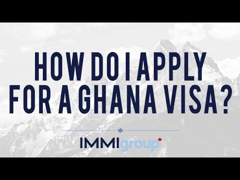 How do I apply for a Ghana visa?