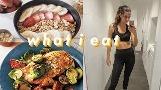 What I Eat in a Day in NYC | Healthy & Easy