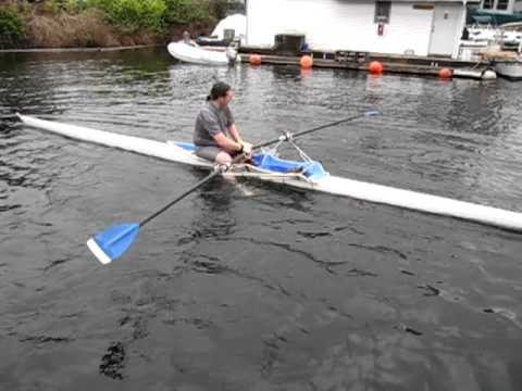 Flip test at Lake Washington Rowing Club 11-05-11