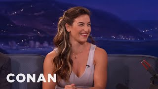 Miesha Tate: Fans Ask Me To Choke Them Out  - CONAN on TBS