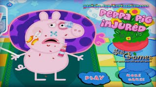 Игры животные лечим - Свинка Пеппа лечит нос Игры для