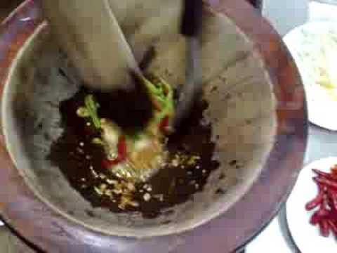 How to make somtam