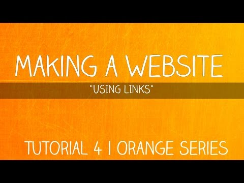 How To Use a Link and Styling Anchor Tag | Learning HTML - 4