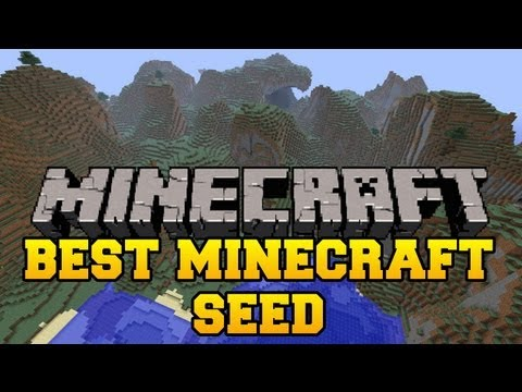 Best Minecraft Seed - Nether Fortress, Desert Pyramids, Jungle Temples, Villages, Stronghold