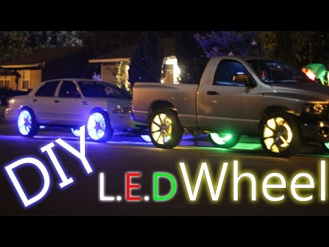 DIY Cool LED's on Any Car or Truck on Wheel's