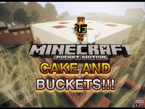 Minecraft Pocket Edition 7.0 Upcoming Features- Cake and Buckets