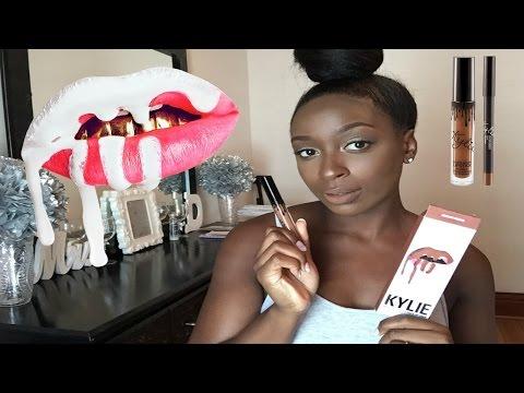 Kylie Brown Sugar Matte Liquid Lipstick | Perfect Nude for Darker Skin Tones?
