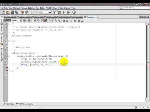 Java Array Length And String Length