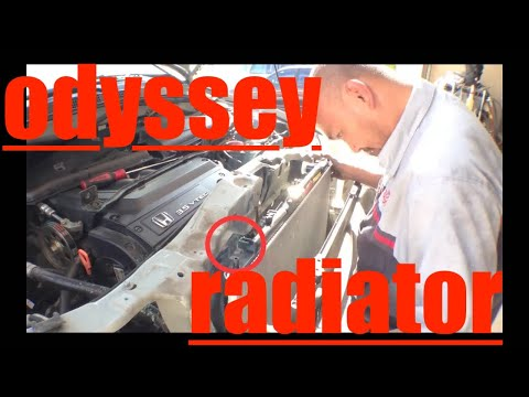 Complete Radiator Front Motor Mount Replacement Honda Odyssey √ Fix it Angel