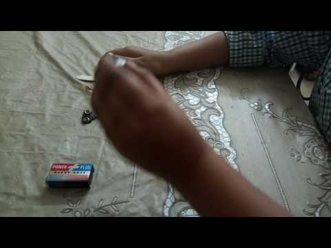 How to make electric fan very easily at home