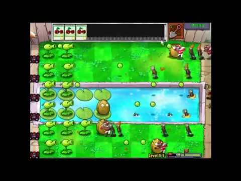 Plants Vs Zombies Lv3-5