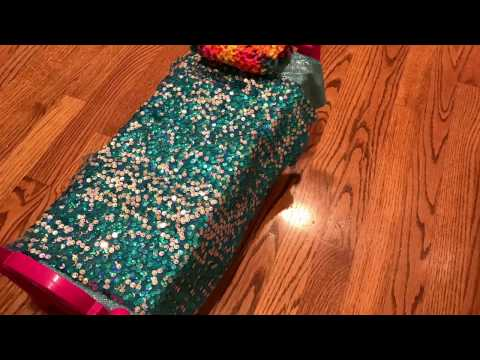 How to make an American Girl doll bed, with/without a bed frame!