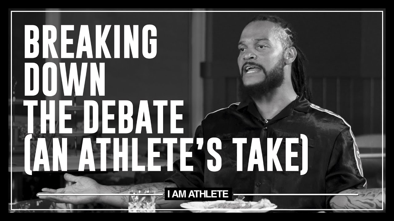 Breaking Down The Debate & COVID In The NFL   I AM ATHLETE with Brandon Marshall & More