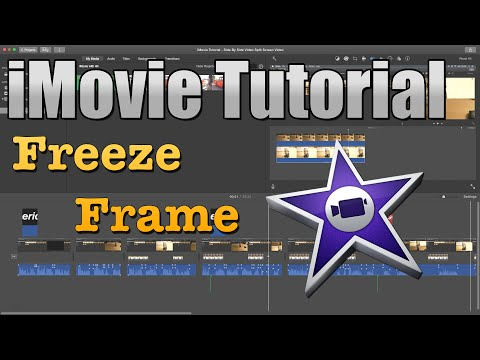 iMovie Tutorial 2016 - How to Freeze Frame