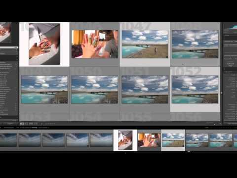How to select multiple images in Adobe Lightroom