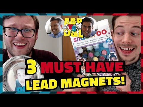 3 Must Have Lead Magnets Ideas   Andrew & Pete Vs. Dan & Lloyd   Challenge 3