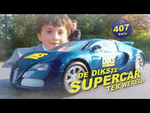 Bugatti voor niks bij Diks