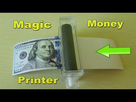 HOW TO MAKE MONEY !!! MONEY PRINTER MACHINE PRINT MONEY | MAGIC TRICK HOW TO PRINT MONEY
