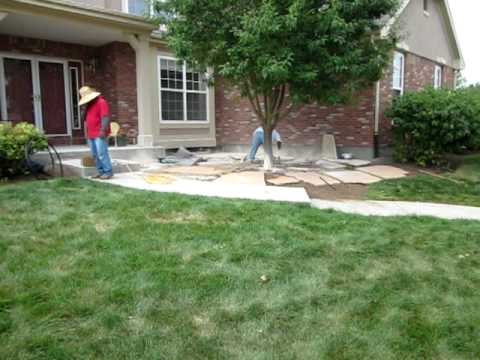 Installing flagstone patios How to install a flagstone patio
