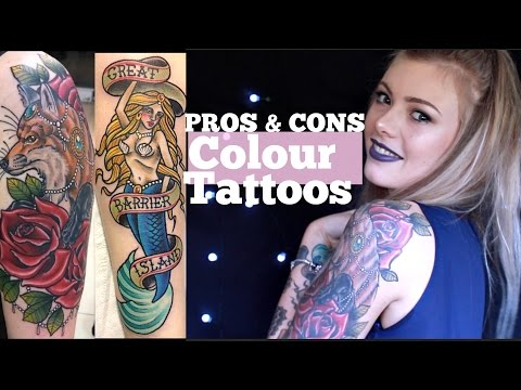 COLOUR vs BLACK/GREY Tattoos | Pros and Cons