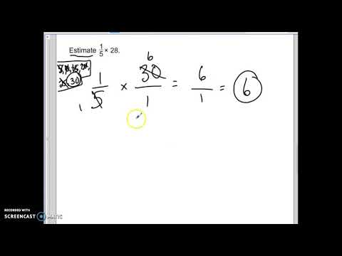 Chapter 4, Lesson 1: Estimate Products of Fractions