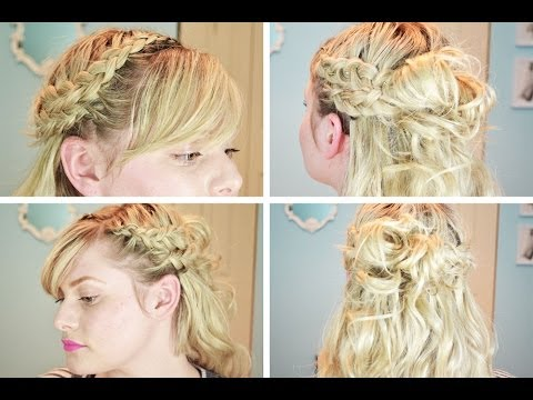 Curly Double Dutch Braided Hair