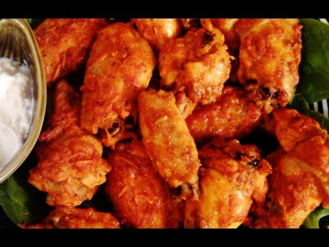 HOT CHICKEN WINGS (BAKED)