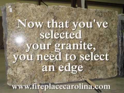 Granite edges-Bullnose, Half-bullnose, bevel, ogee and more