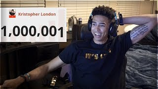 1 Million Subscribers - My YouTube Success Story | Kristopher London