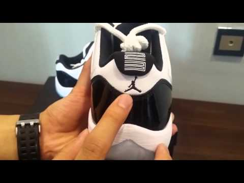 Jordan 11 Concord Low Unboxing & On Feet Comparison v s  Reverse Concord
