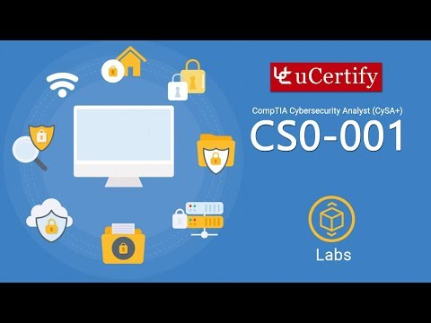 CompTIA Cybersecurity Analyst (CySA+) Labs (CySA+-Labs)