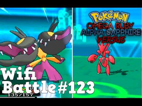 Pokemon ORAS / X&Y Wifi Battle #123: Mega Mawile vs Scizor (Omega Ruby & Alpha Sapphire)