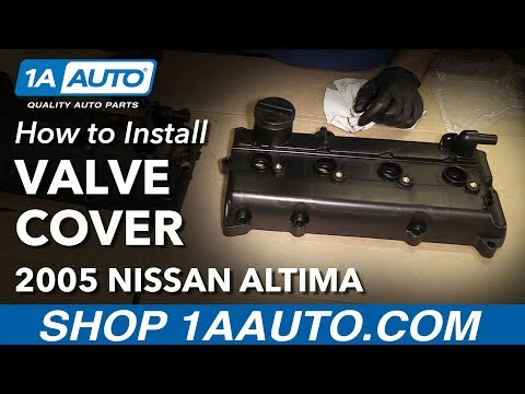How to Install Replace Valve Cover and Gasket 2002-06 L4 2.5L Nissan Altima