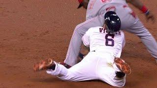 MLB awkward slides