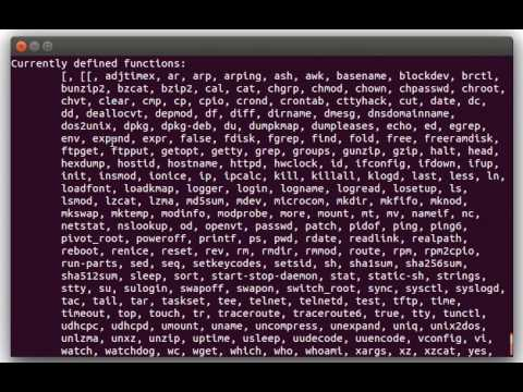 Basics of Busybox and how to run a Busybox HTTPD web server