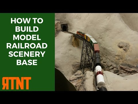 How To Build Model Railroad Scenery Base