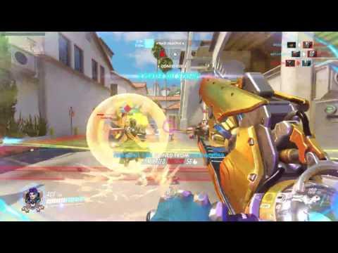 Zarya Comp Gameplay Hollywood