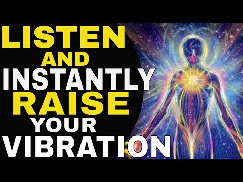 INSTANTLY Raise Your Vibration & Increase Your Energy With Positive Affirmations | Law of Attraction