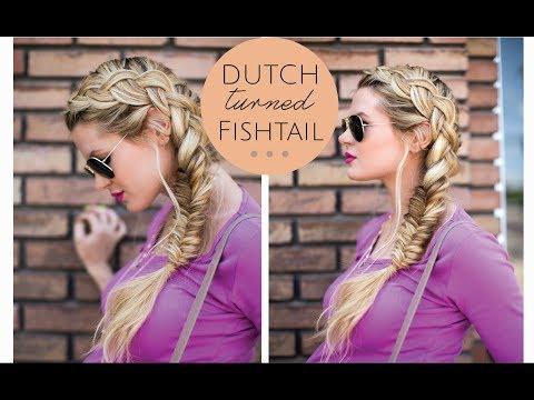 TUTORIAL | Dutch Turned Fishtail Braid