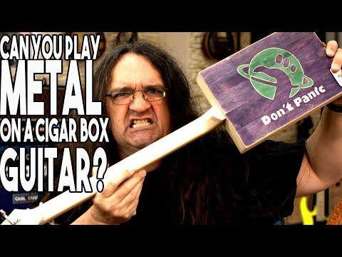 Can you play metal on a CIGAR BOX guitar?   Spectre Sound Studios