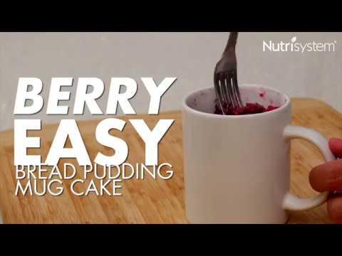 Berry Easy Bread Pudding Mug Cake
