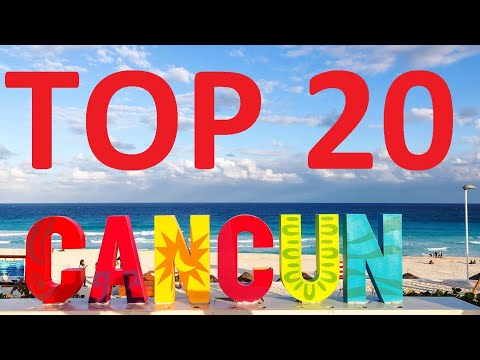 TOP 20 CANCUN Attractions and Things To Do - MUST SEE If You're Going To Cancun