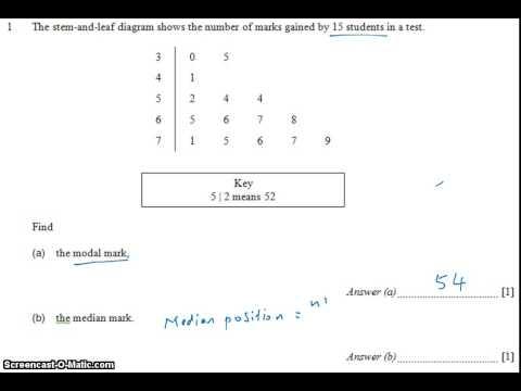 GCE NA Level 2009 P1 Q1