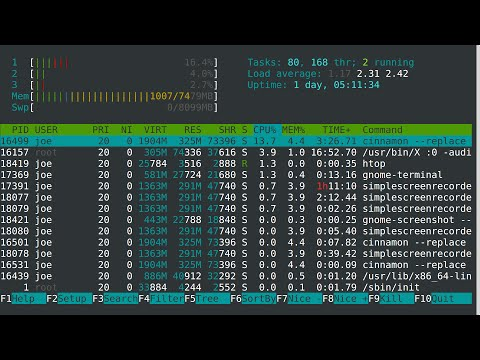 Linux Tip | How to use Htop
