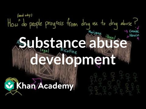 How does substance use develop into substance abuse | Mental health | NCLEX-RN | Khan Academy