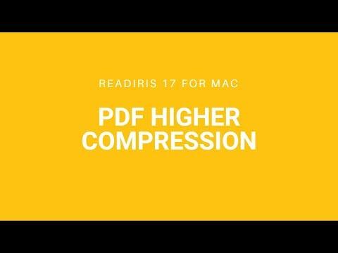 Readirisi 17 Mac: Higher compression